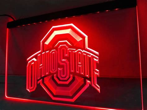 ohio state neon light 237 best ohio state cave images on ohio
