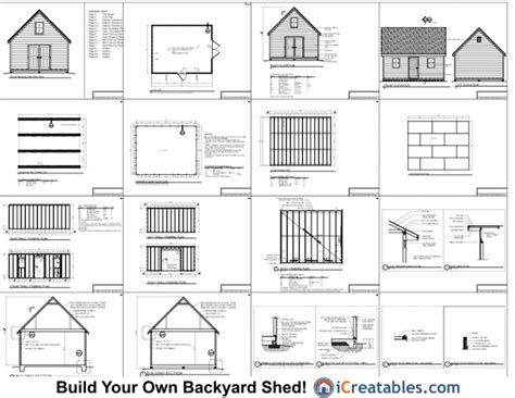 knowing plans  building     shed trick  learn