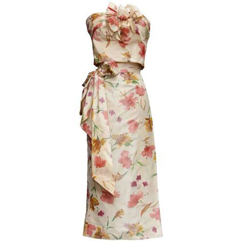 Diori Dress 1 2008 christian dress ensemble in floral print for