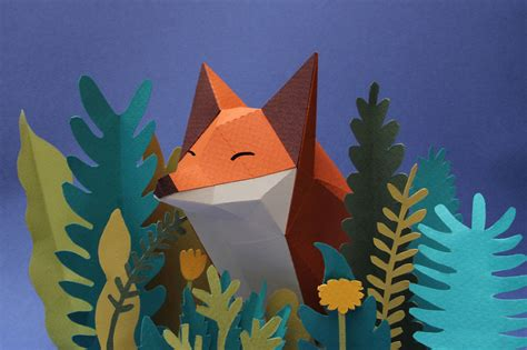 Origami Forest Animals - we are a of artists who create lowpoly animals from