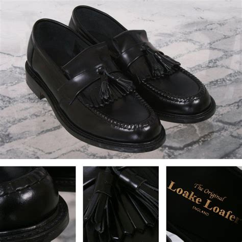 Black Oak Casino Gift Cards - loake made in england skin mod polished leather tassled loafer shoe black adaptor