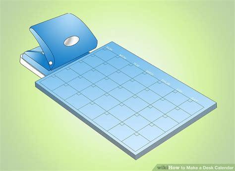 how to make a desk calendar how to make a desk calendar 11 steps with pictures