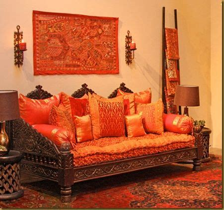 Ethnic Room Decor by Ethnic Indian Living Room Interiors Ghar