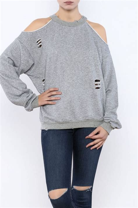 Cut Out Sweatshirt best 25 cut sweatshirts ideas on cut clothes