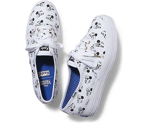 Keds Shoes Chion Minnie Original 1 get the ultimate minniestyle shoefie with this new keds collection