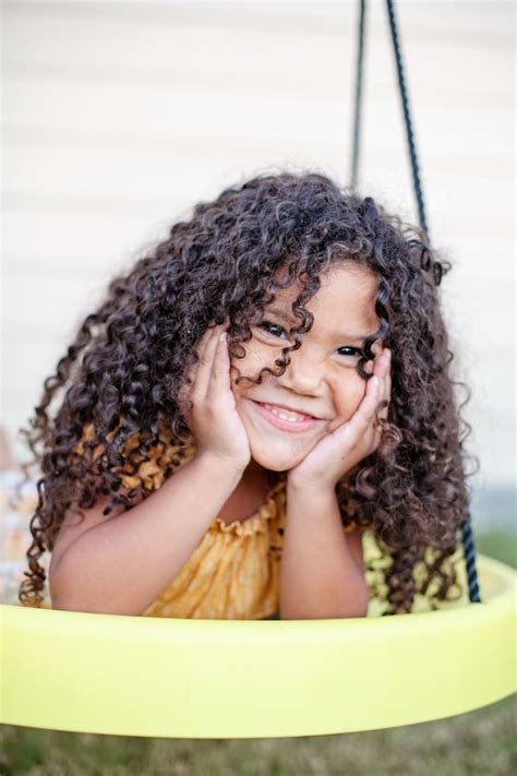 cutting biracial curly hair styles biracial hair care routine for kids