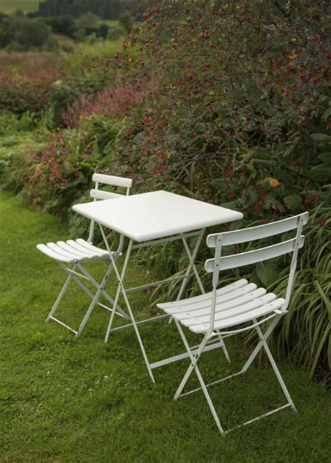 white folding bistro chairs buy rome folding bistro set white