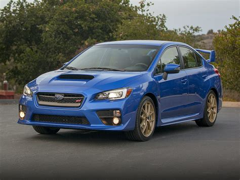 subaru sedan 2015 subaru wrx sti price photos reviews features