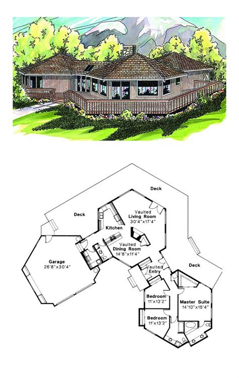 www coolhouseplans com 1000 images about octagon style house plans on pinterest