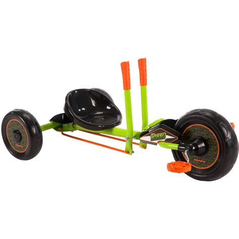 ride on huffy green machine mini 180 176 spins durable steel