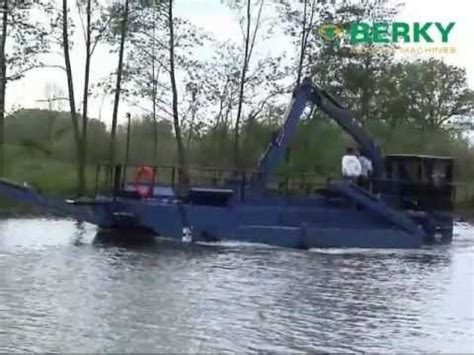 baggerboot kopen berky load dredger type 6840 with hydraulical bottom flap