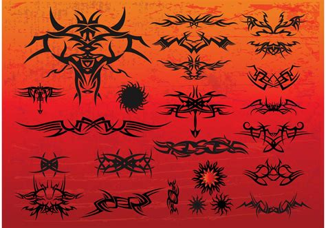 tribal tattoo vectorial free tribal vectors free vector