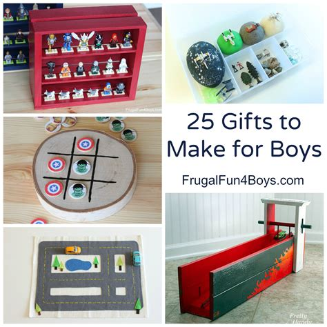25 more homemade gifts to make for boys frugal fun for