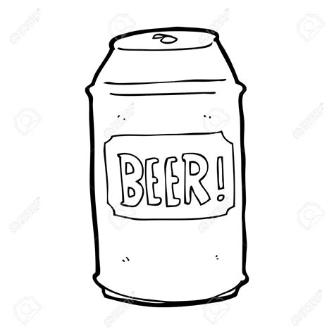 beer cartoon black and white beer can clip art many interesting cliparts