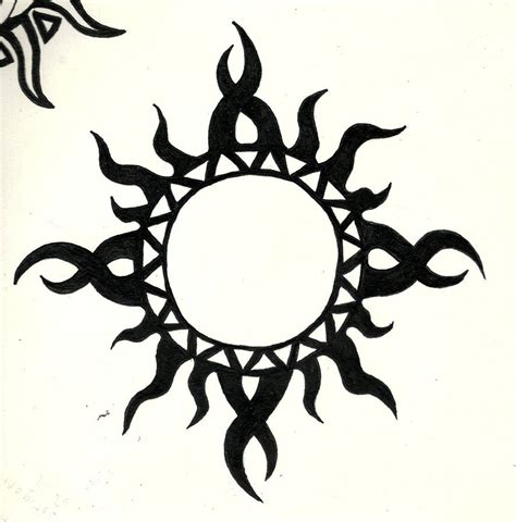 tribal sun pics cliparts co