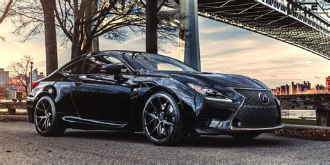 lexus rcf matte black lexus rcf wheels high performance luxury lexus rcf rims
