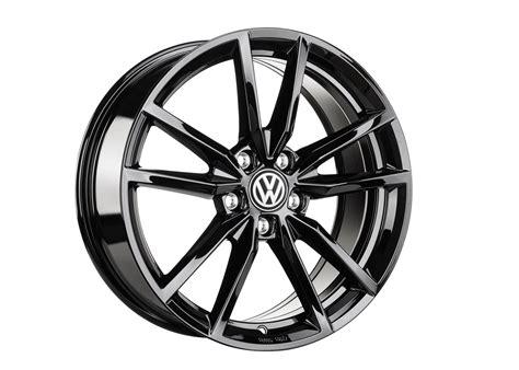 Vw Wheels by Volkswagen R32 18 Pretoria Wheel Black Wheels Alloy