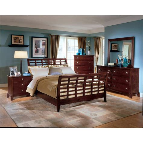modern bedroom sets king barton brown king size modern bedroom set see white