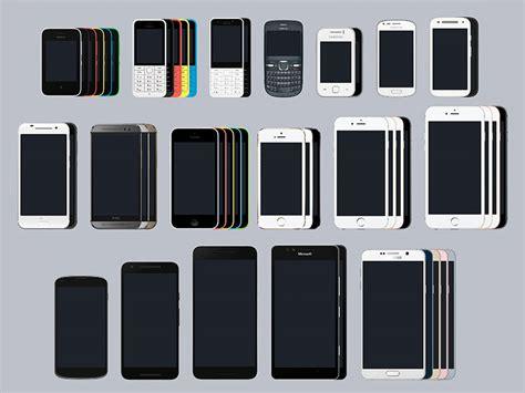 samsung mobile devices large set of mobile device mockups sketch freebie