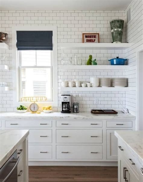 subway tiles in kitchen an unbelievably cool house to copy cabinets roman