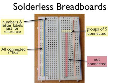 breadboard circuit layout ieee breadboarding workshop shannon strutz