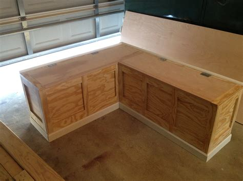 diy corner bench kitchen table built in banquette tutorial bigger than the three of us