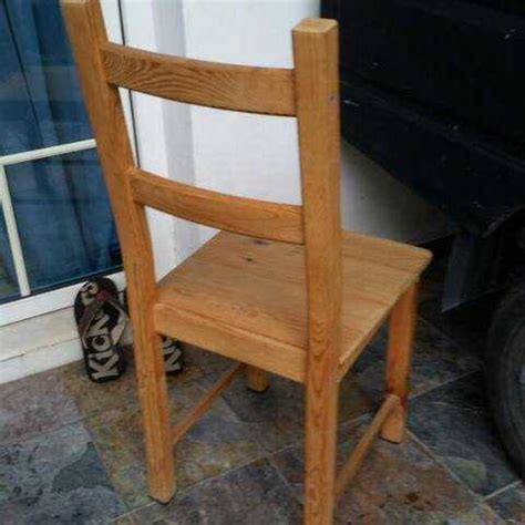 Wooden Chair Singapore by 1pc Wooden Dining Chair 10 For Sale In Singapore