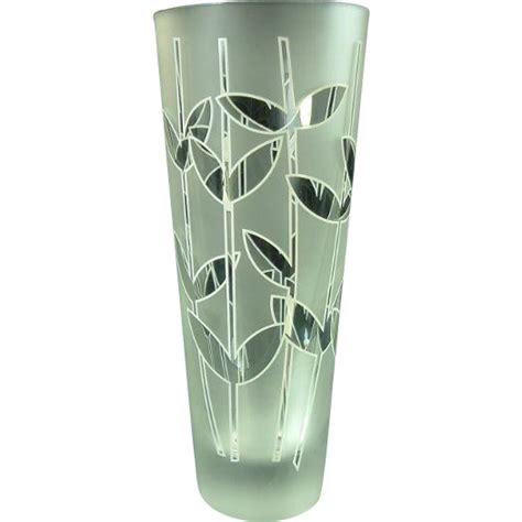 Rosenthal Glass Vase by Rosenthal Egizia Glass Vase From Antiquesonascot On