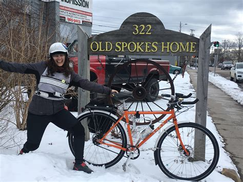andrea s new bike day spokes home