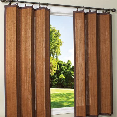 outdoor bamboo curtains outdoor curtains bamboo interior exterior doors