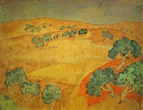 picasso nature paintings summer landscape pablo picasso wikiart org