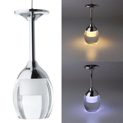 modern glass pendant light modern led wine glass ceiling light chandelier l