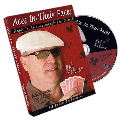 aces in their faces by bob kohler with cards dvd dvdacesintheir 33 00eur - Kohler Gift Card