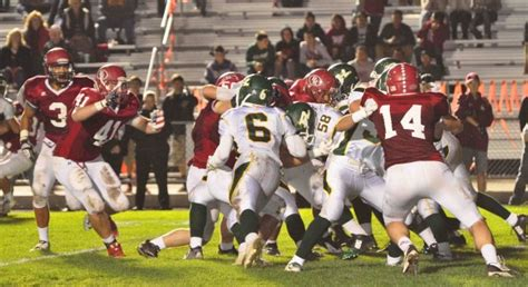 cif northern section football bearcats crush highlanders 42 14 paso robles daily news
