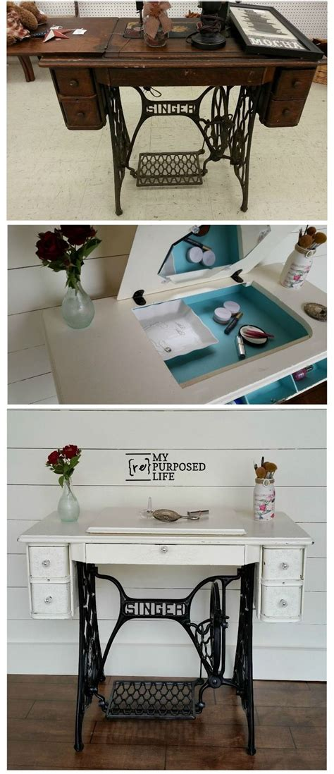 sewing machine desk ideas 25 unique sewing machine tables ideas on