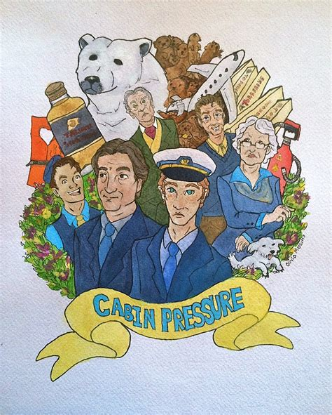 Cabin Pressure Mr Birling by Cabin Pressure By Liv4theobsession On Deviantart