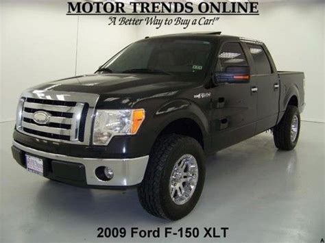 how to sell used cars 2009 ford f series auto manual purchase used 2009 xlt crew cab custom moto metal wheels sunroof sync media ford f 150 87k in