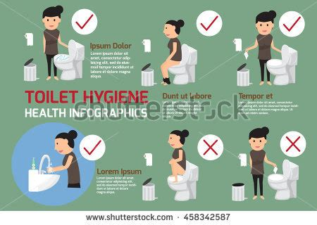 bd einsatz toilette hygiene stock images royalty free images vectors