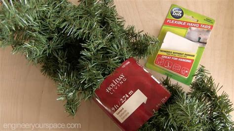 giveaway wall mounted christmas tree smart diy