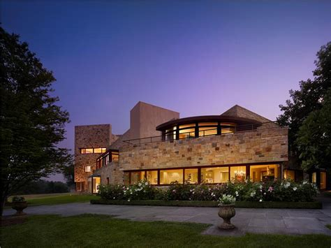 for 30 million this modern mansion in pennsylvania has