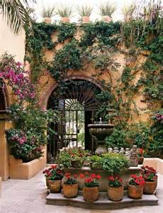 Mexican Style Patio Mexican Envy Pinterest Wrought Iron Ideas For