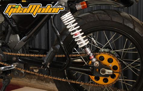 Shock Depan Byson Asli Yamaha modifikasi honda gl100 1988 tracker hadiah untuk