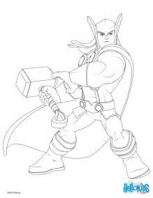 thor coloring pages hellokids com