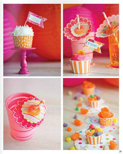 colour themed party decorations pink orange party ideas the party dress magazine