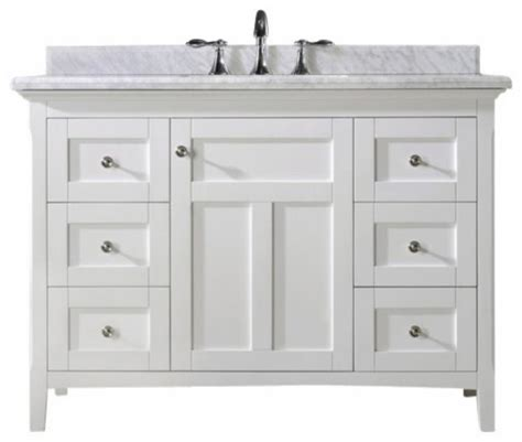 Home Depot 48 Inch Vanity by Trendy Ideas Bathroom Vanity White Beadboard 42 Inch Home