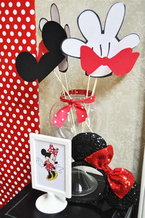 mickey mouse clubhouse  minnie mouse birthday party ideas photo    catch  party