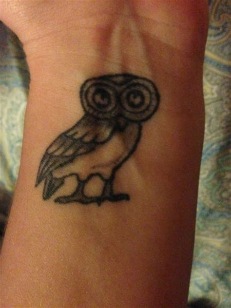 tattoo athena owl scott partridge athena s owl