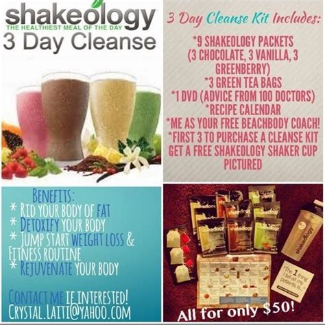 7 Day Detox Beachbody by Pin By Ali B On Beachbody And Shakeology