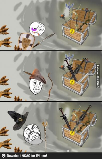 Rpg Memes - rpg treasure chest by class funny meme funny memes and pics