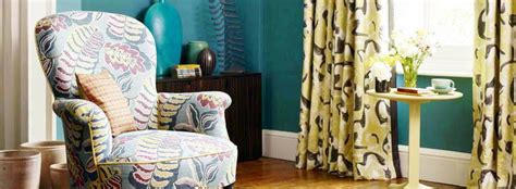 Home Decor Adelaide Addicted To Designer Fabric Colourful Vintage Sanderson Agathao House Of